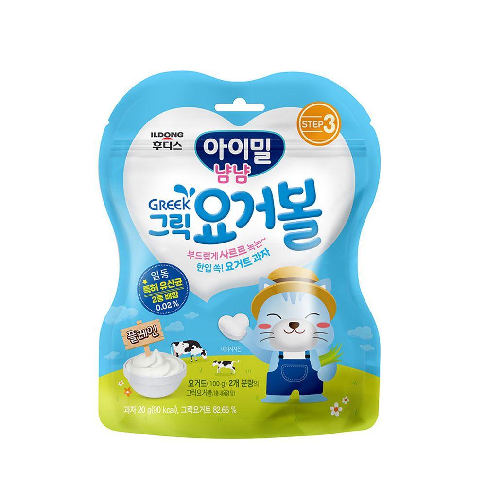 韓國Ildong Foodis日東 - 優格愛心餅-原味
