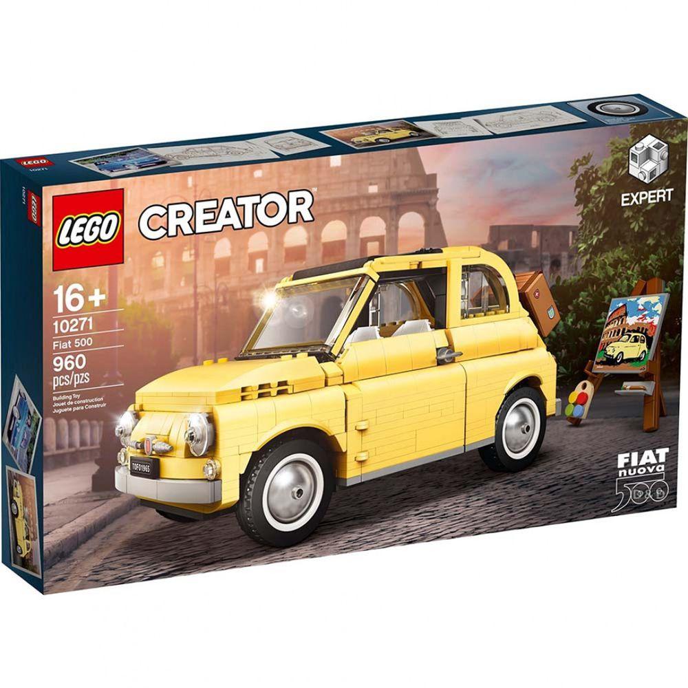 樂高 LEGO - 樂高積木 LEGO《 LT10271 》創意大師 Creator 系列 - 飛雅特 500 Fiat 500-960pcs