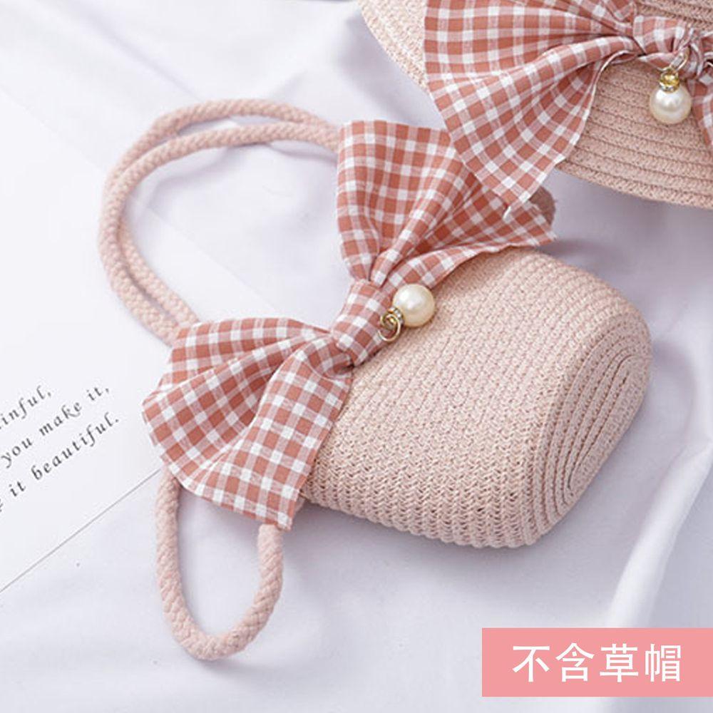 蝴蝶結小包-粉色