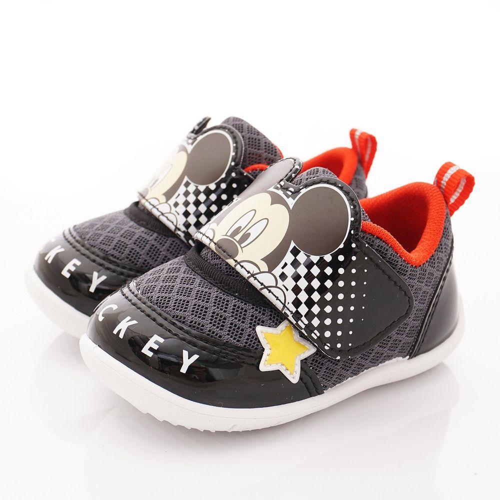 迪士尼 - 卡通童鞋-米奇超輕運動鞋(小童段)-黑