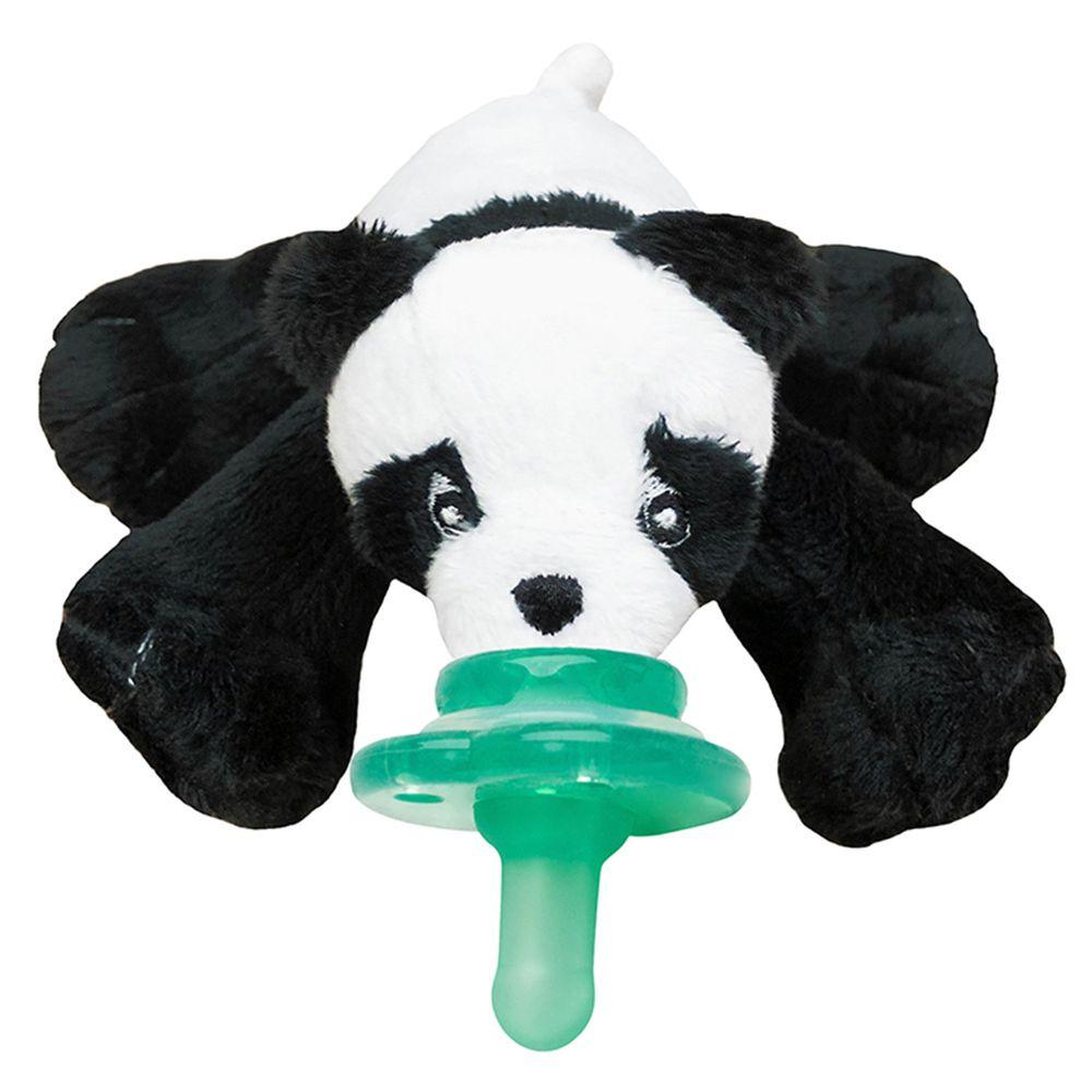 美國 nookums - 寶寶 可愛造型 安撫奶嘴 / 玩偶-熊貓寶寶