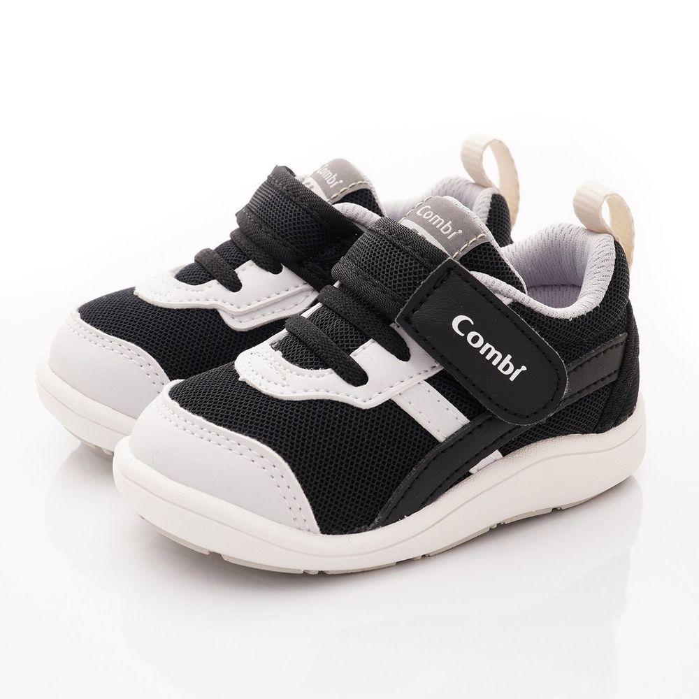 日本 Combi - 學步鞋/機能童鞋-NICEWALK 醫學級成長機能鞋(寶寶段)-黑