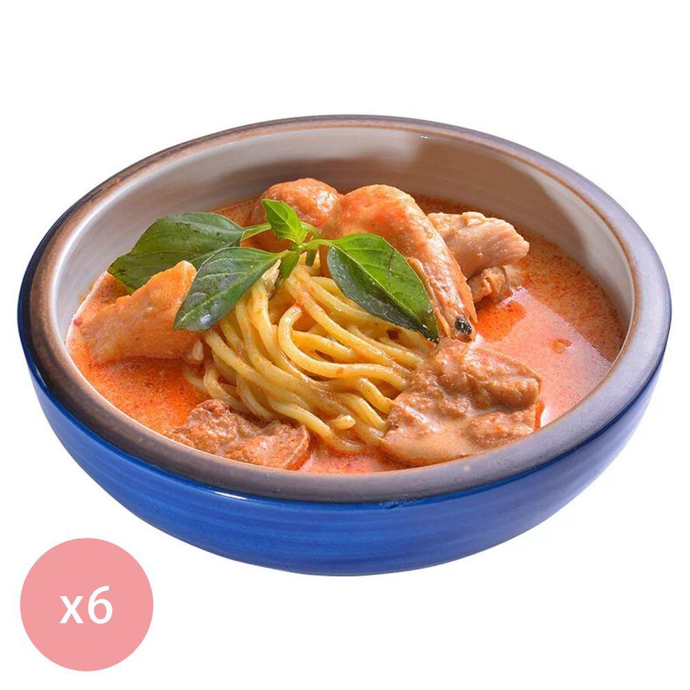 【國宴主廚温國智】 - 冷凍叻沙勁麵700g x6包