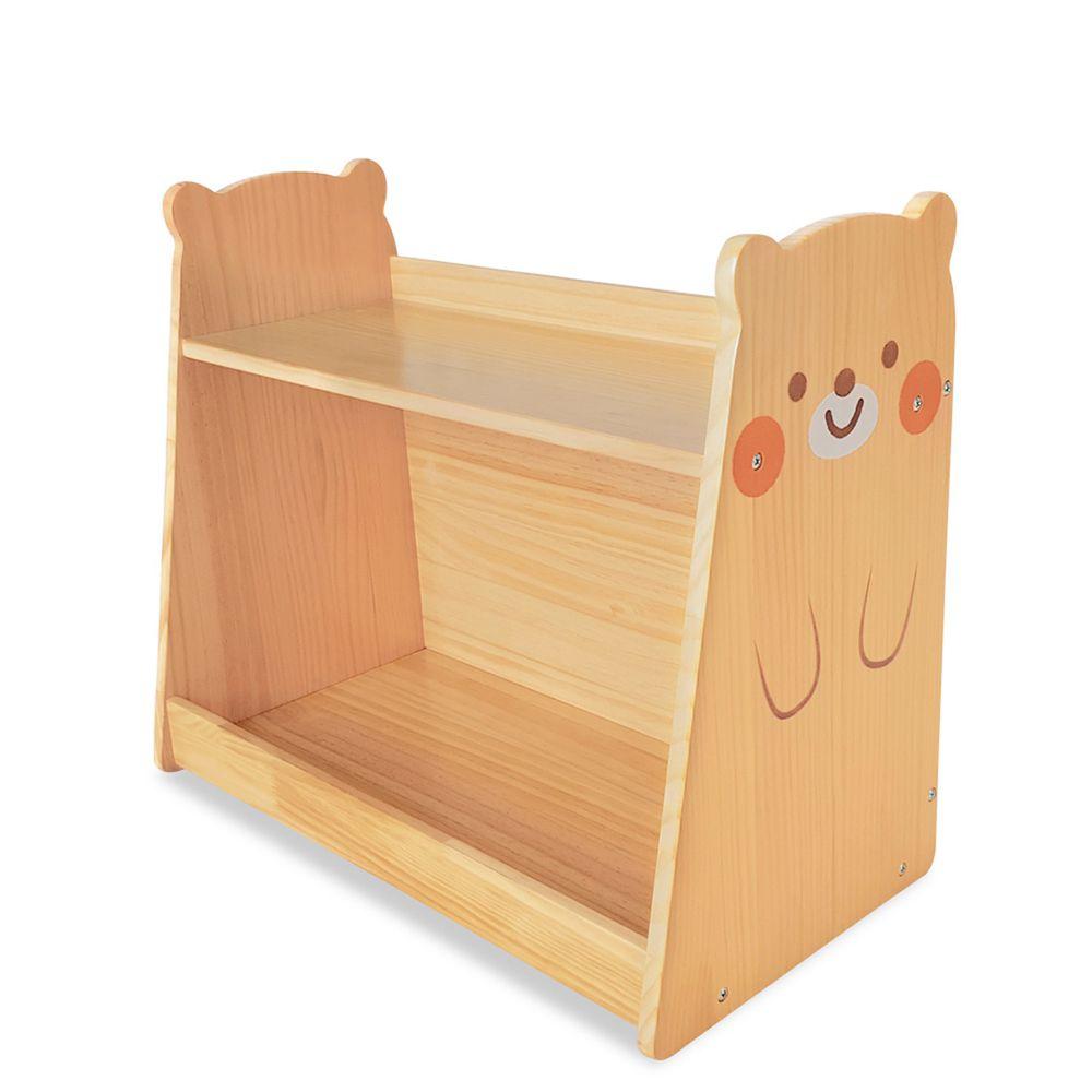 Kikimmy - 小熊原木收納架