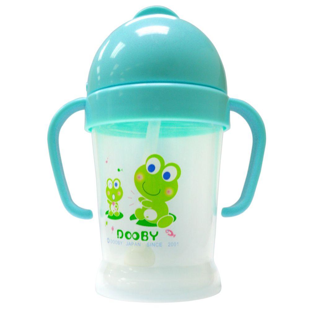 DOOBY 大眼蛙 - 神奇喝水杯-限量款-藍色 (200mL-8個月起)