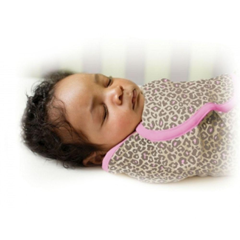Summer Infant - 聰明懶人育兒包巾-粉紅豹-適用年齡:0~3個月