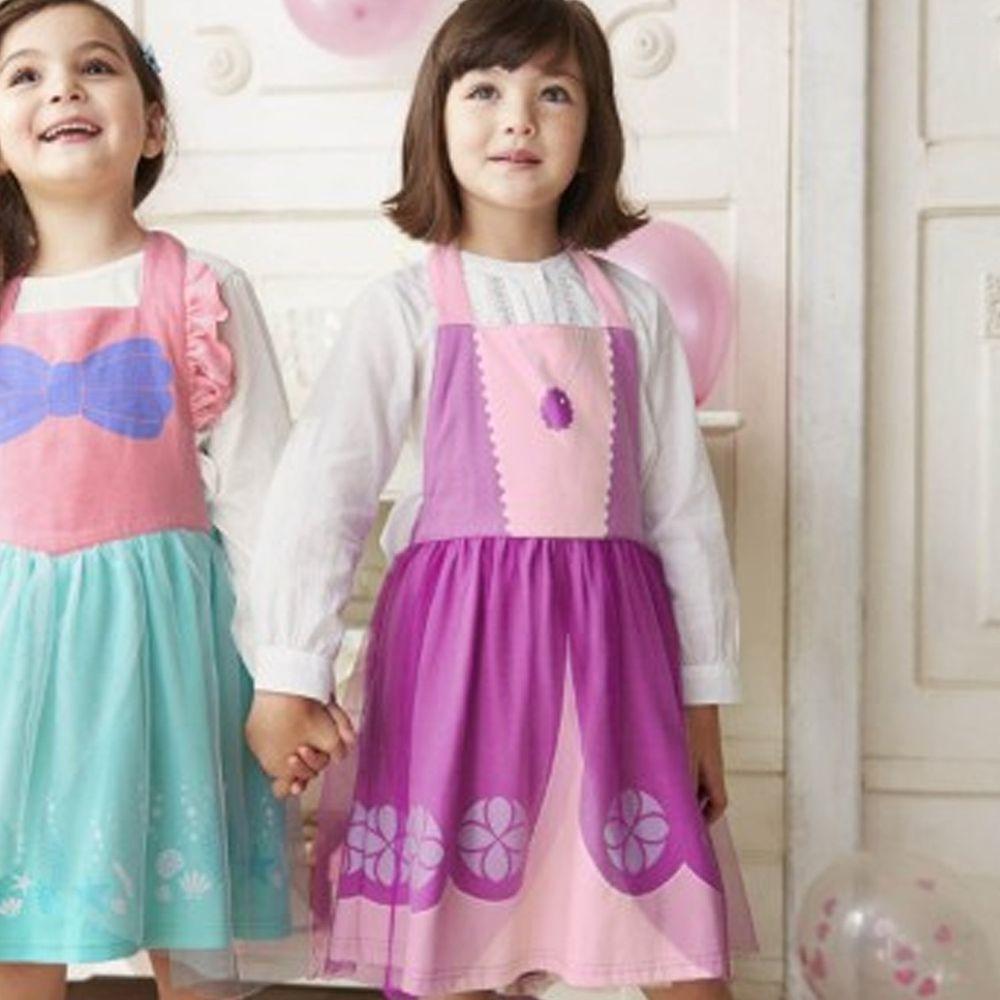 日本千趣會 - 迪士尼公主圍裙式洋裝-索妃雅