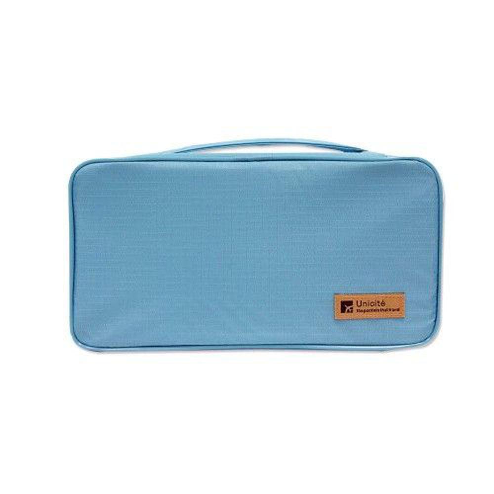 Unicite - 貼身衣物收納袋-藍
