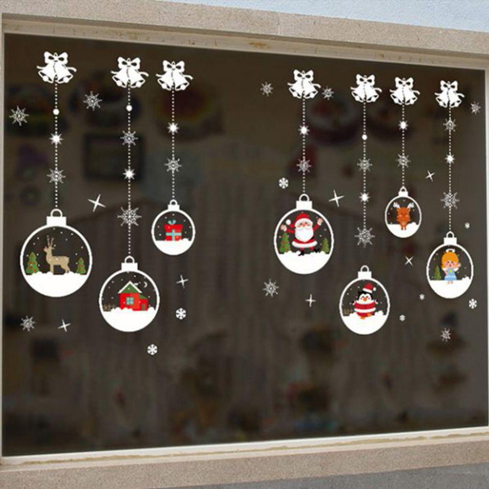 JB Design - 時尚壁貼-聖誕水晶球吊飾 (70cm*50cm)