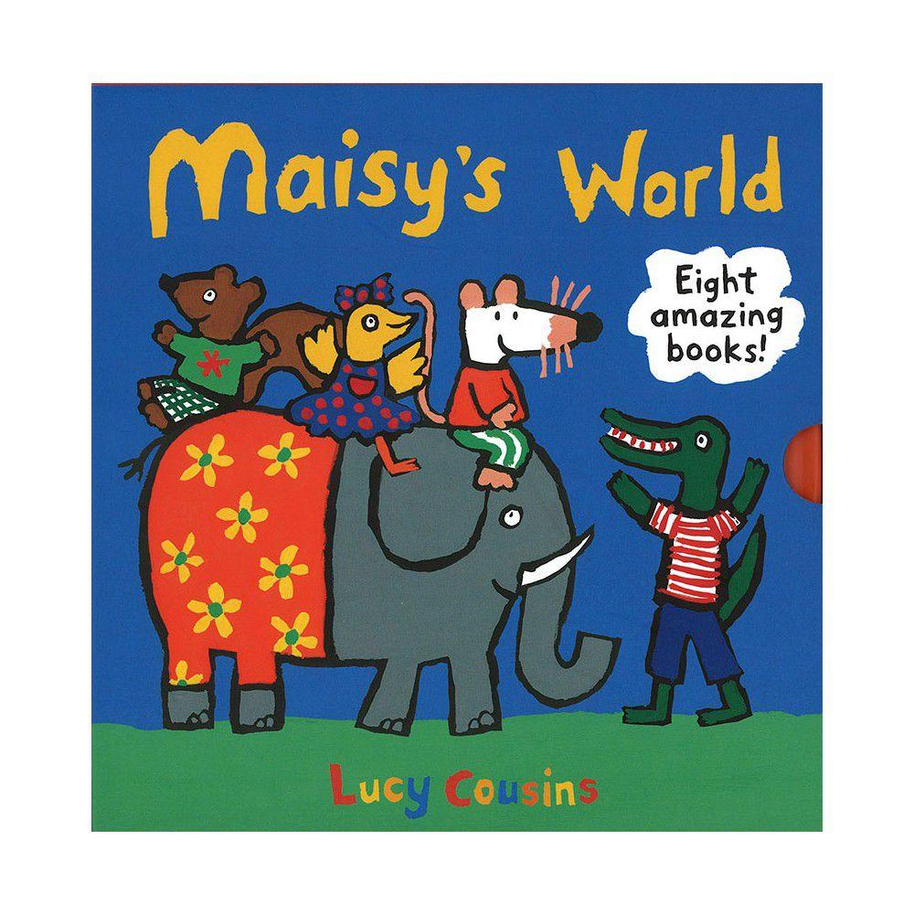 MAISYS WORLD PACK /8 BKS-盒裝書.內含4本操作+4本貼紙書