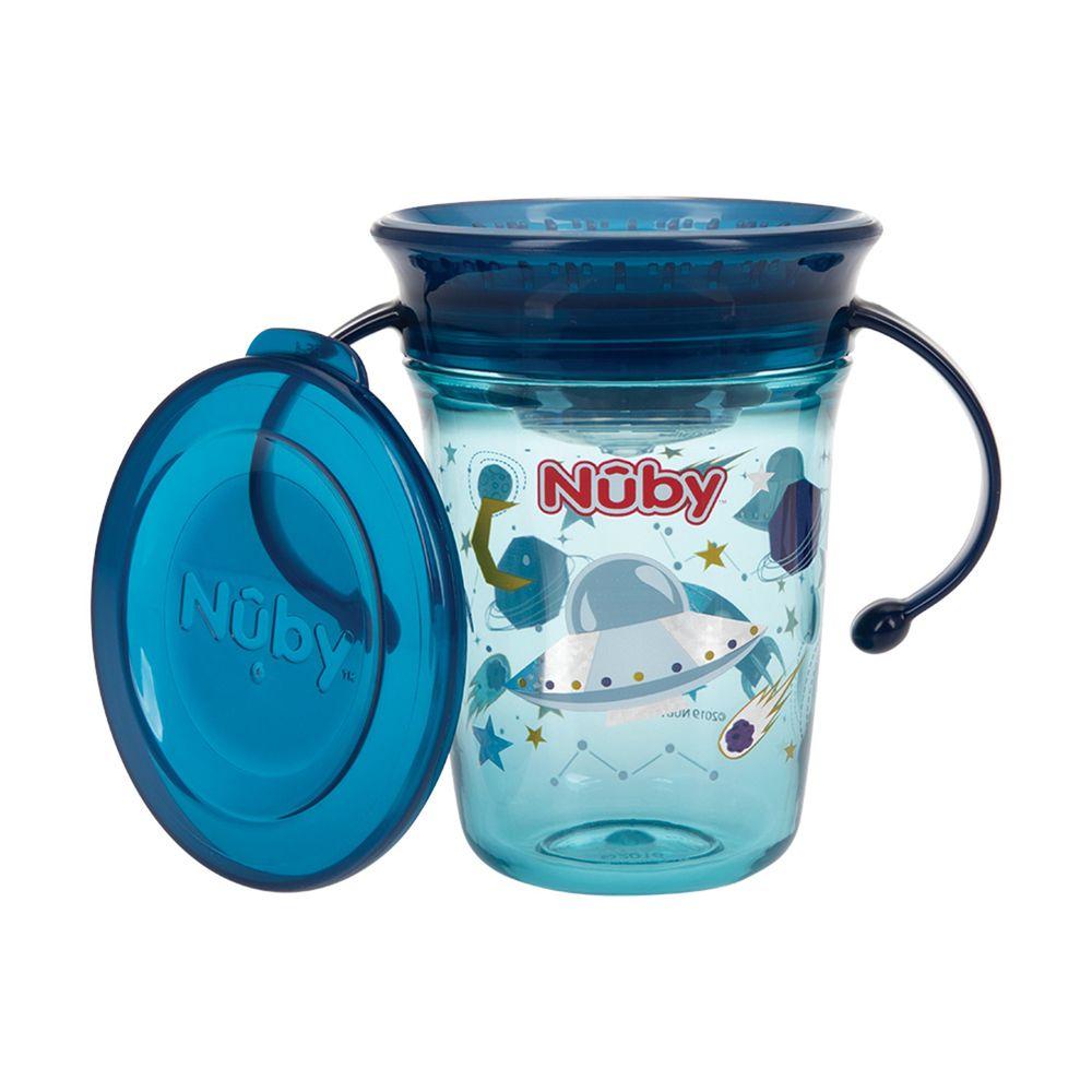 Nuby - Tritan501魔術杯-太空 (240ml)