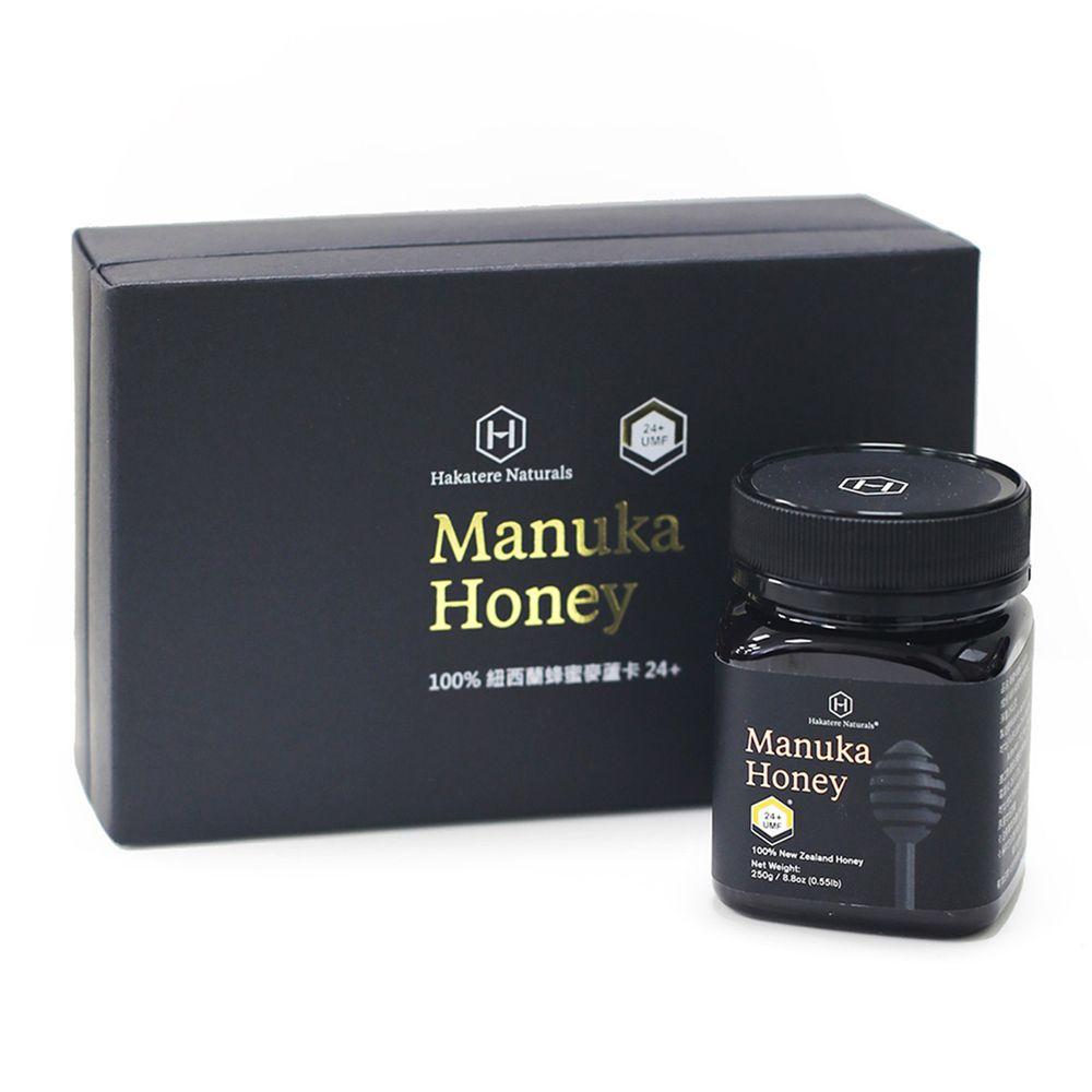 Hakatere Naturals - 紐西蘭國寶-麥蘆卡蜂蜜-UMF24+-250g/罐