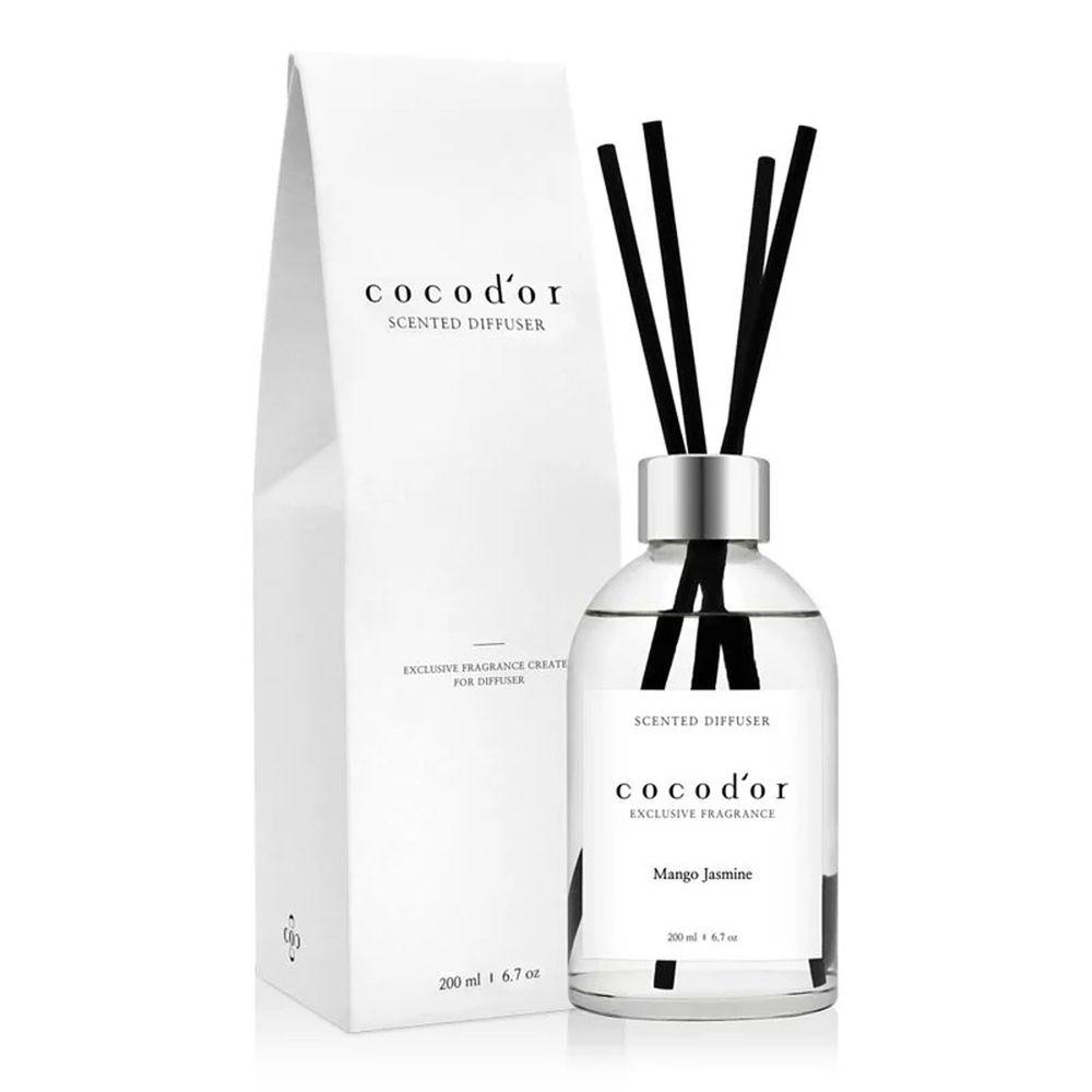 韓國 cocodor - WHITE LABEL 擴香瓶-芒果茉莉-200ml