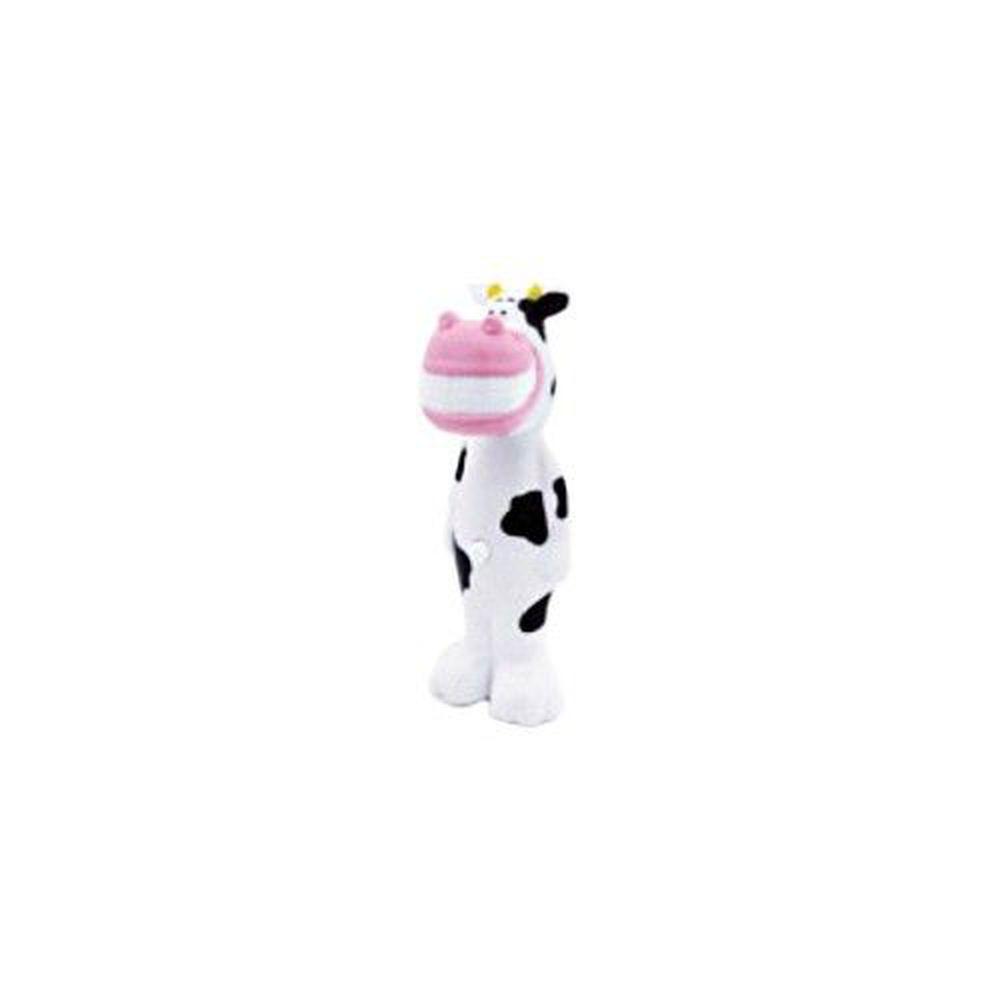 日本 U-COMPANY - Bounce up 彈跳牙刷-大乳牛-黑白