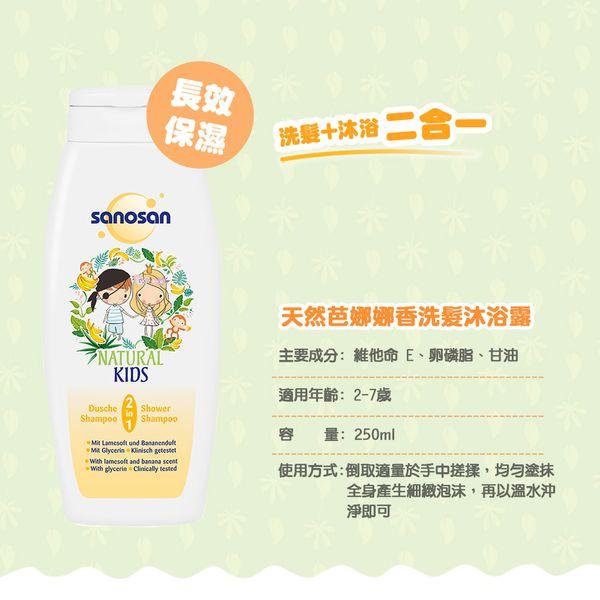 Sanosan NATURAL KIDS 洗沐&孕媽護膚系列