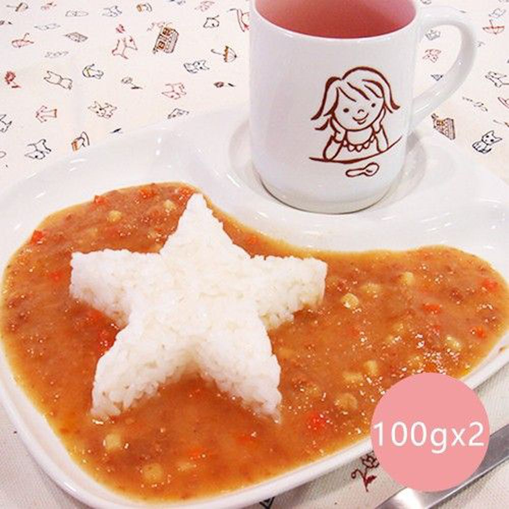 日本 CANYON - 兒童咖哩調理包-100克x2袋/盒