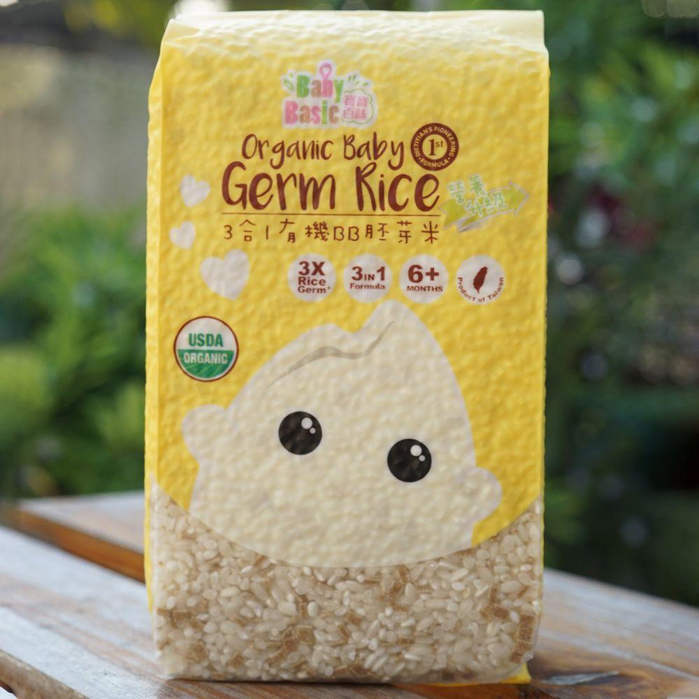 香港寶寶百味 - 3合1BB胚芽米 (6+)-500g/包