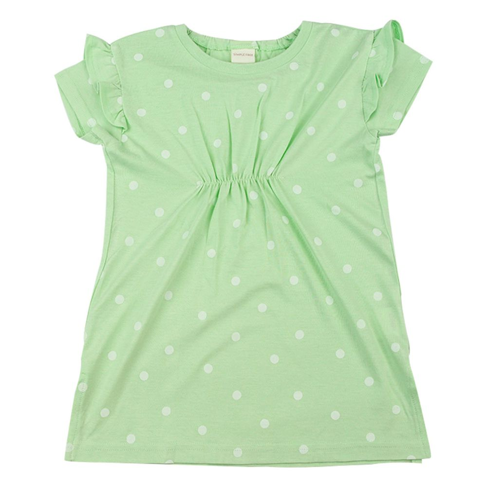 akachan honpo - 洋裝-綠色