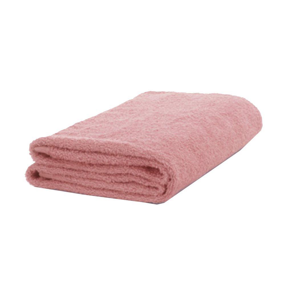 日本桃雪 - 精梳棉飯店浴巾-嫩桃 (60x130cm)