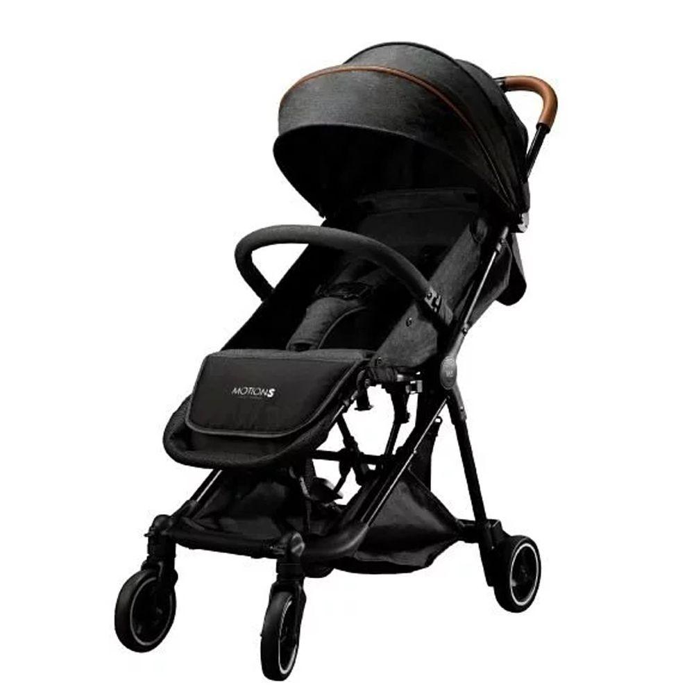 六甲村 Mammy Village - MotionS 潮。輕旅單雙人嬰兒推車-紳士灰