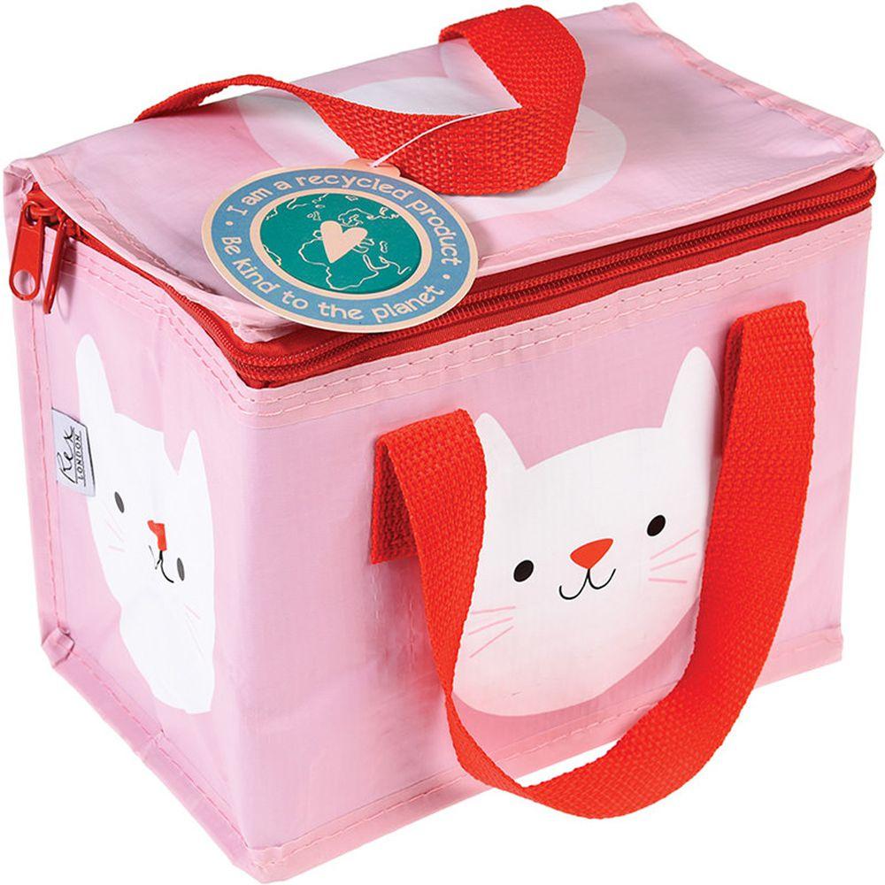 英國 Rex London - 環保保溫袋/保冷袋/便當袋/野餐袋-迷人貓咪