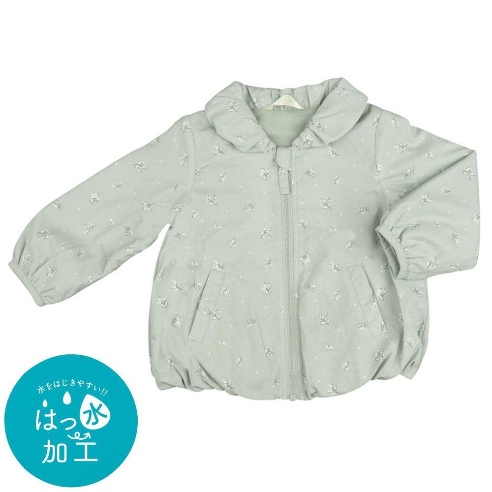akachan honpo - 防潑水夾克-淺藍色