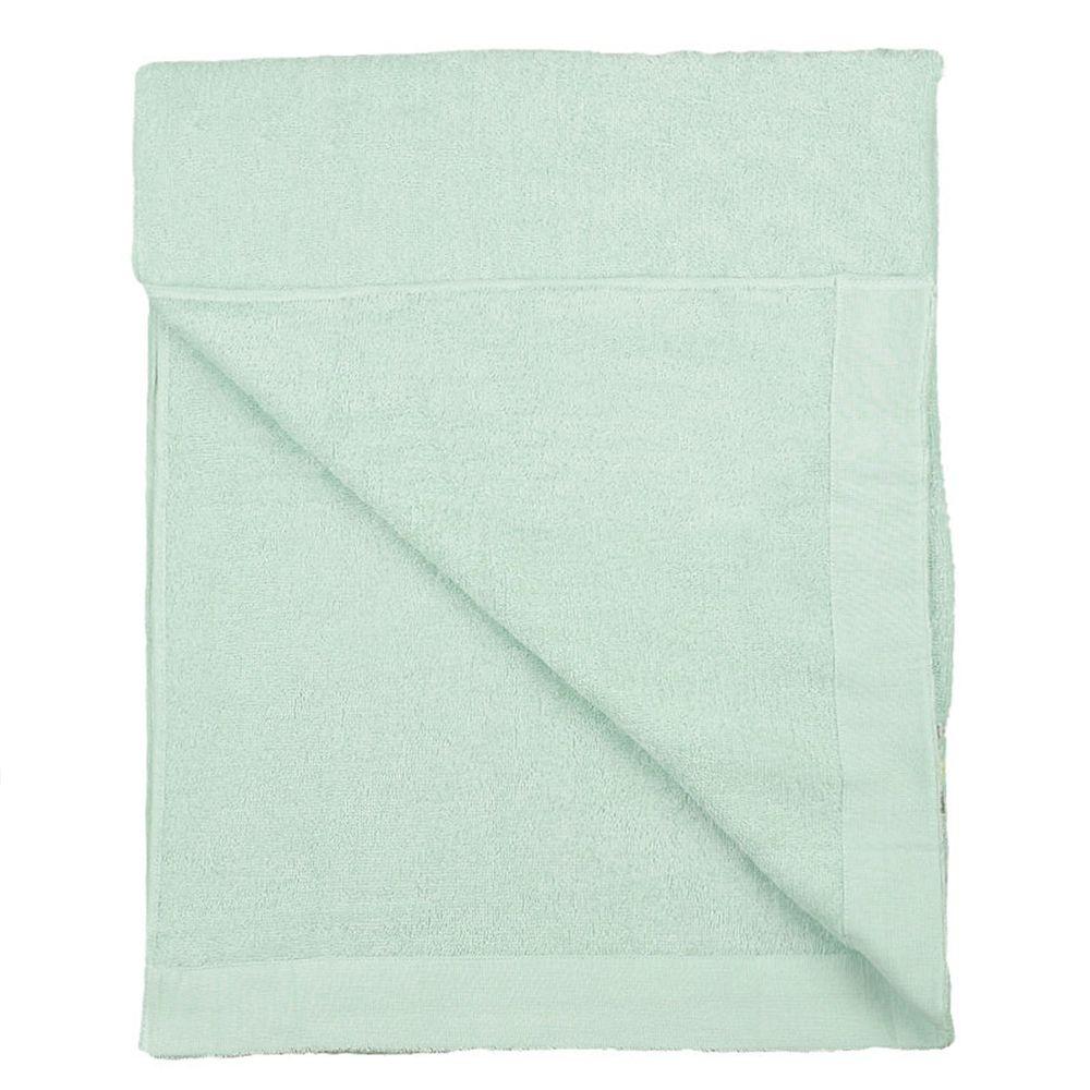 akachan honpo - 強力吸水毛巾被-綠色 ((85x115cm))