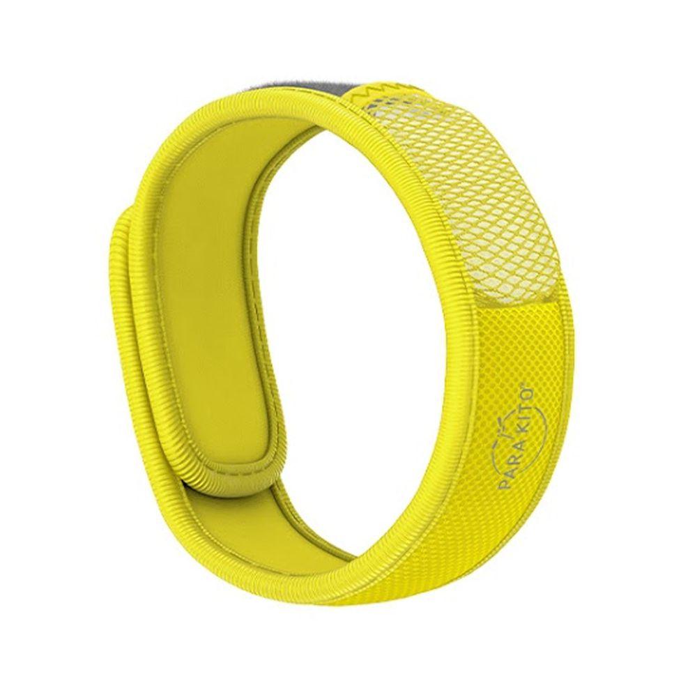 法國 PARA'KITO 帕洛 - 天然精油防蚊手環-繽紛款-黃色