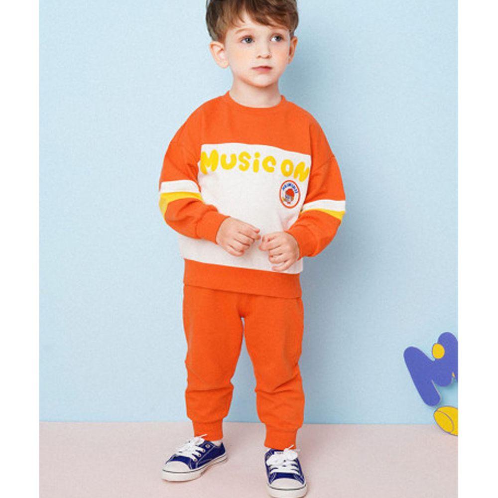 韓國 HEJMINI - 喇叭小子徽章套裝-橘