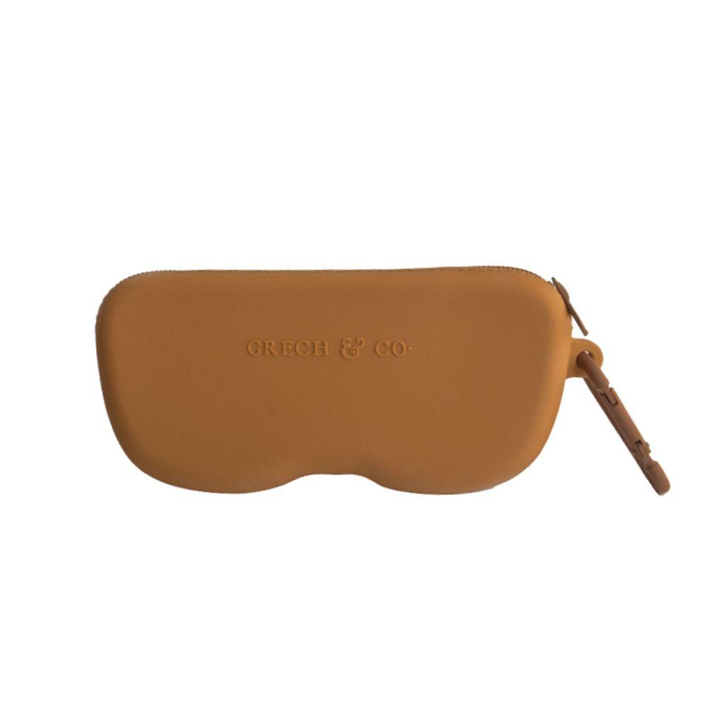 丹麥GRECH&CO - 矽膠眼鏡盒-亮橙