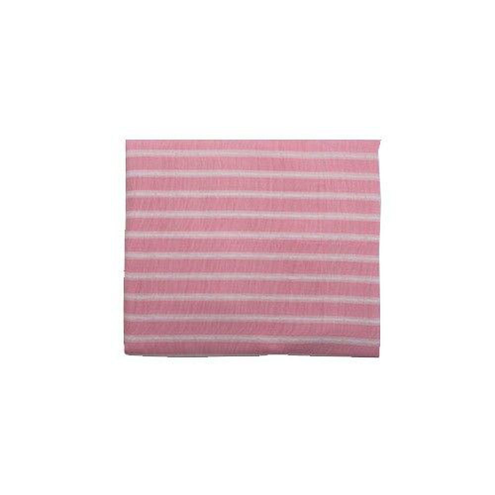 日本 Combi - 和風紗輕柔感透氣嬰兒平枕-枕心可水洗系列-粉色 (42x30x3cm)-3個月起