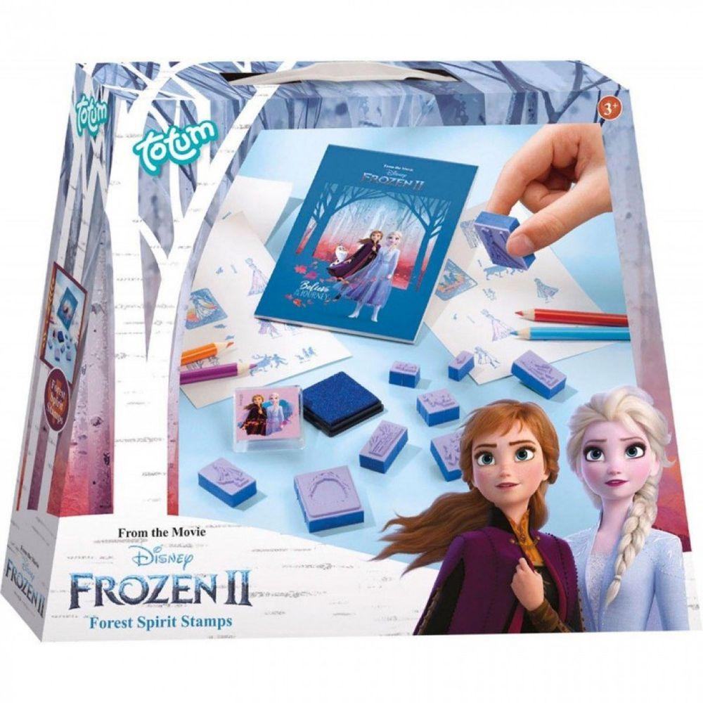 Disney 迪士尼 - 【新品】《 Disney 迪士尼 公主 》冰雪奇緣迷你手作系列-印章組