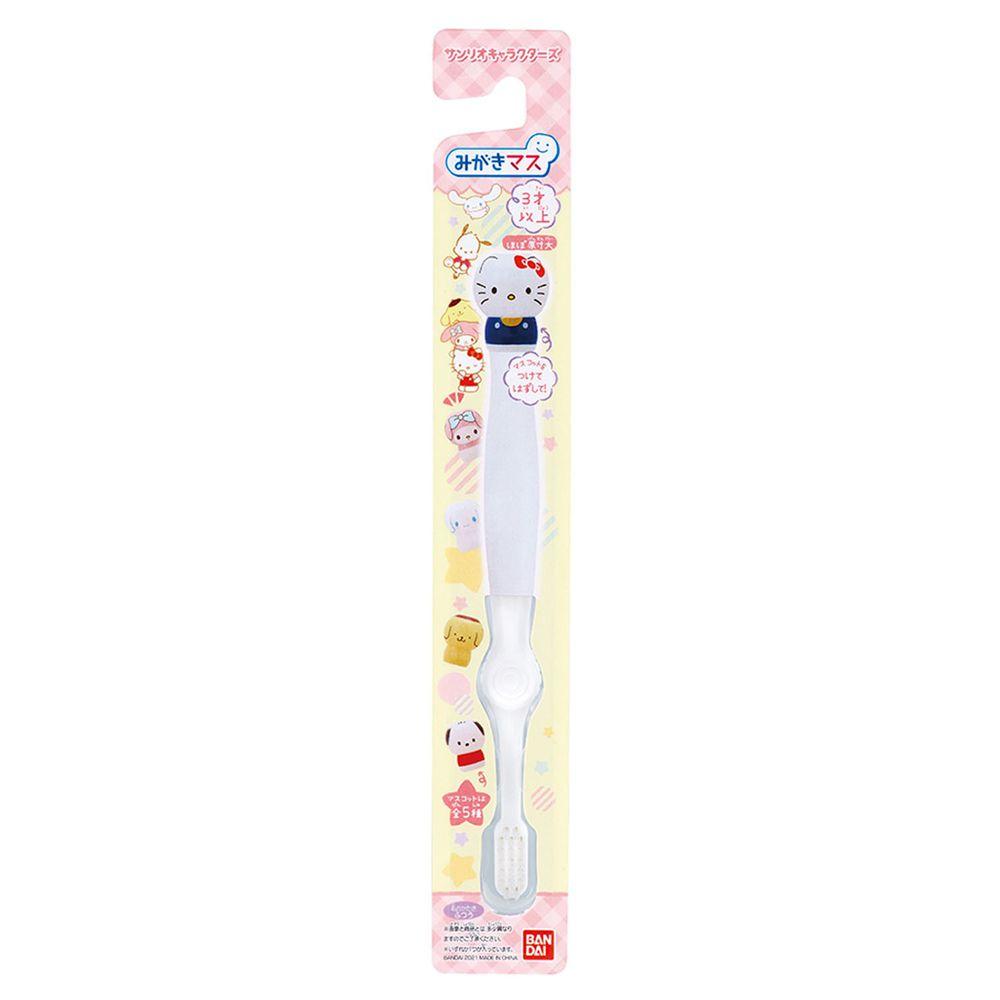 日本 BANDAI - 三麗鷗家族牙刷-3歲以上-1入(附公仔握柄套)