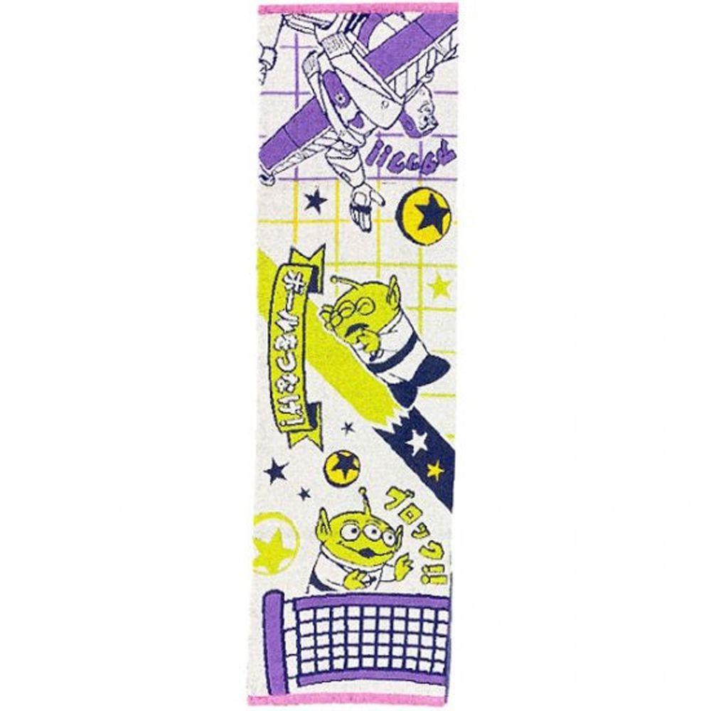 日本代購 - 卡通長型運動毛巾-玩具總動員排球 (34x100cm)