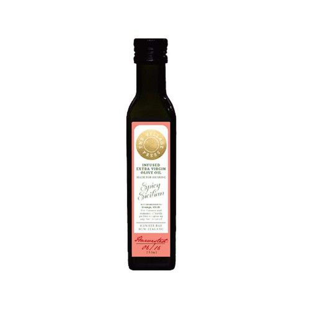 壽滿趣 - 紐西蘭廚神 頂級冷壓初榨香辣西西里風味橄欖油-250ml