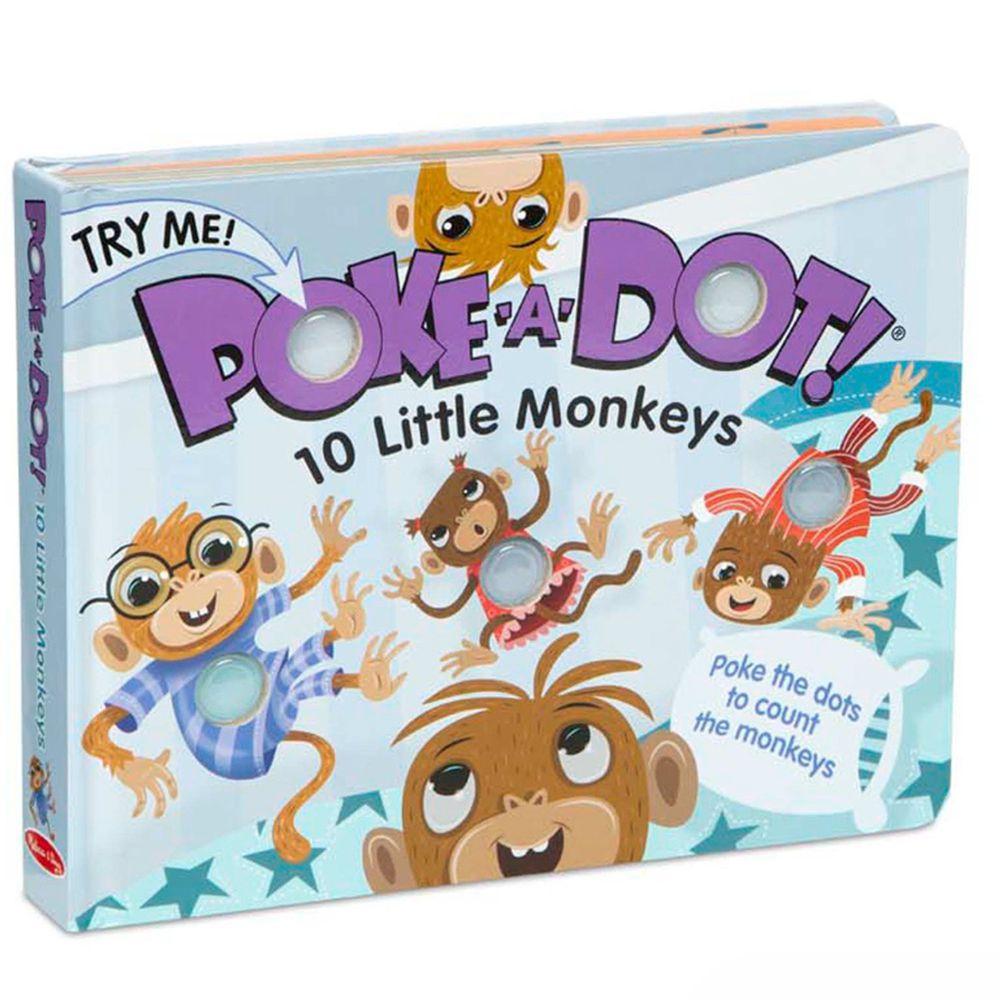 美國瑪莉莎 Melissa & Doug - 神奇泡泡書-十隻猴子