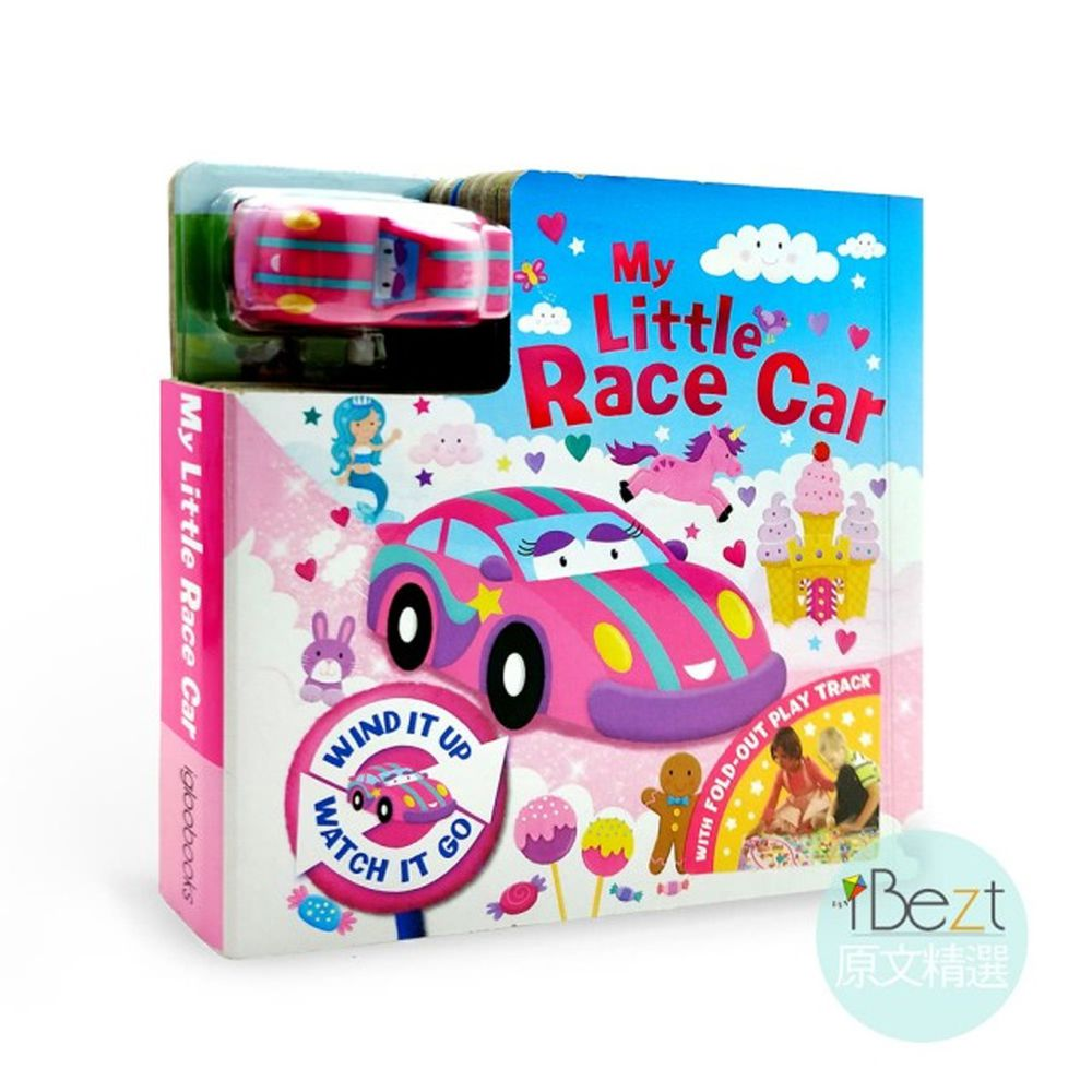 Busy Day Board 軌道車車書-My Little Race Car