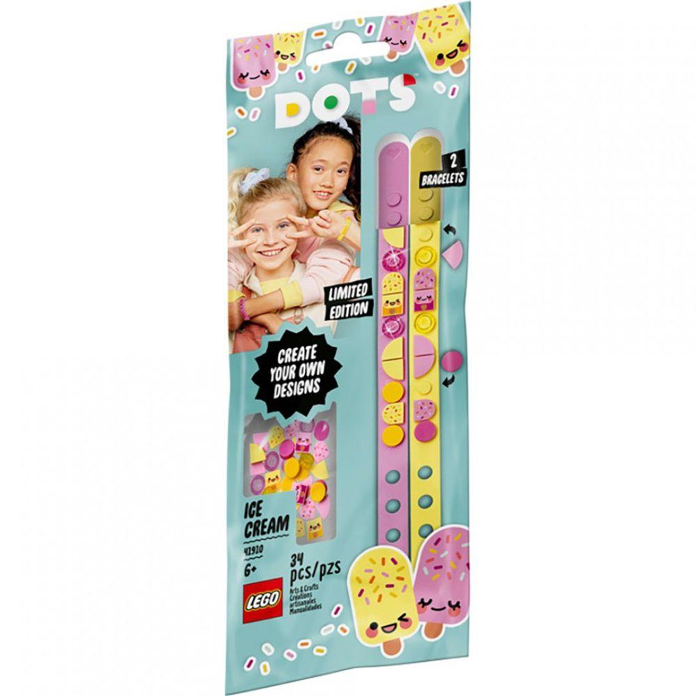 樂高 LEGO - 樂高積木 LEGO《 LT41910 》DOTS 系列 豆豆手環 - 冰淇淋女孩-34pcs