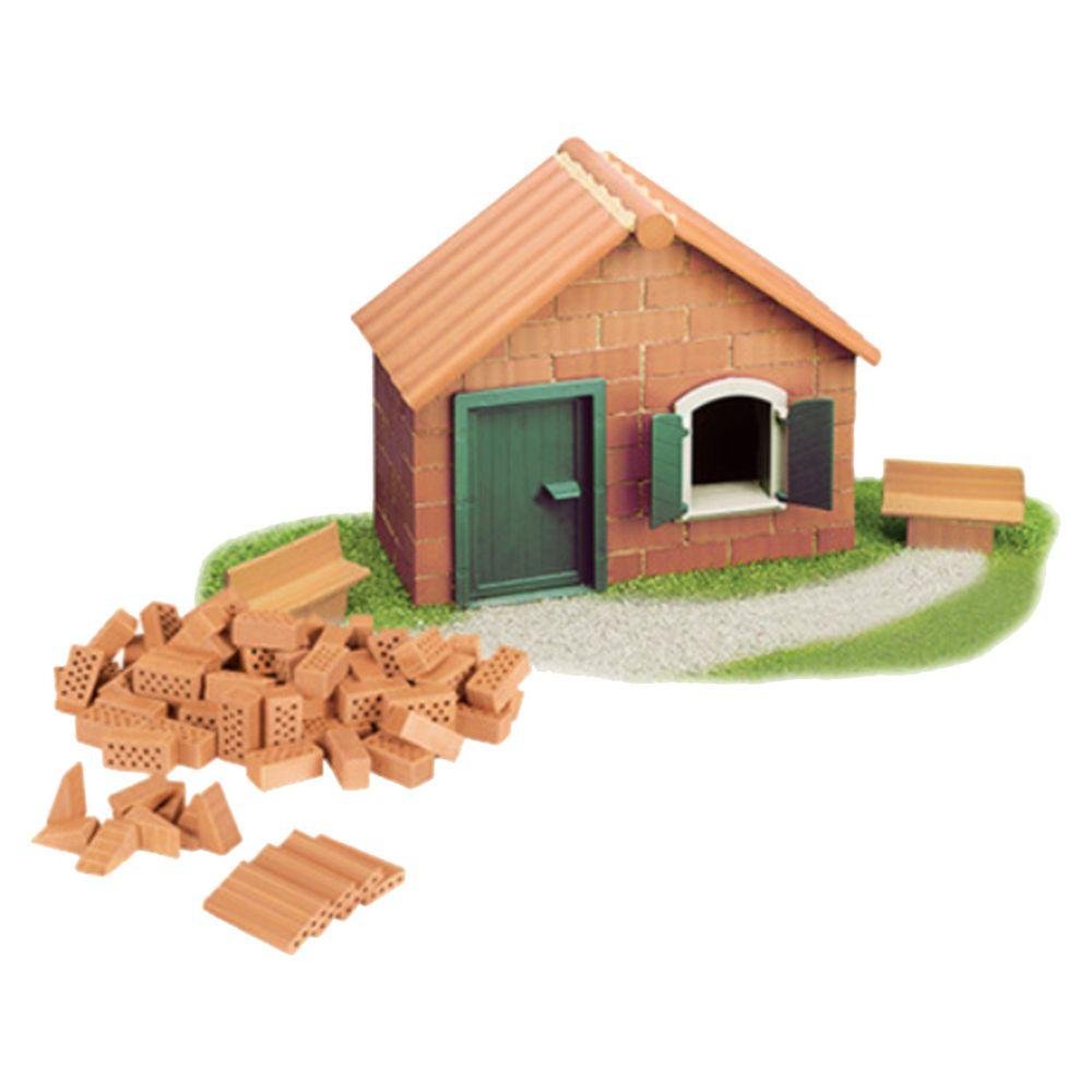 德國 teifoc - 益智磚塊建築玩具-房子-TEI51