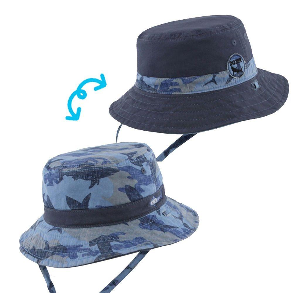 Millymook & Dozer - 迷彩鯊魚雙面漁夫帽