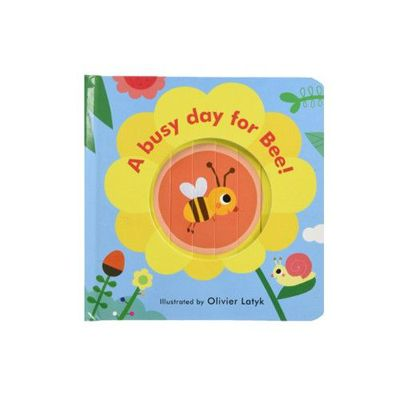 Little Faces: A Busy Day for Bee! 忙碌小蜜蜂 (百葉窗書)