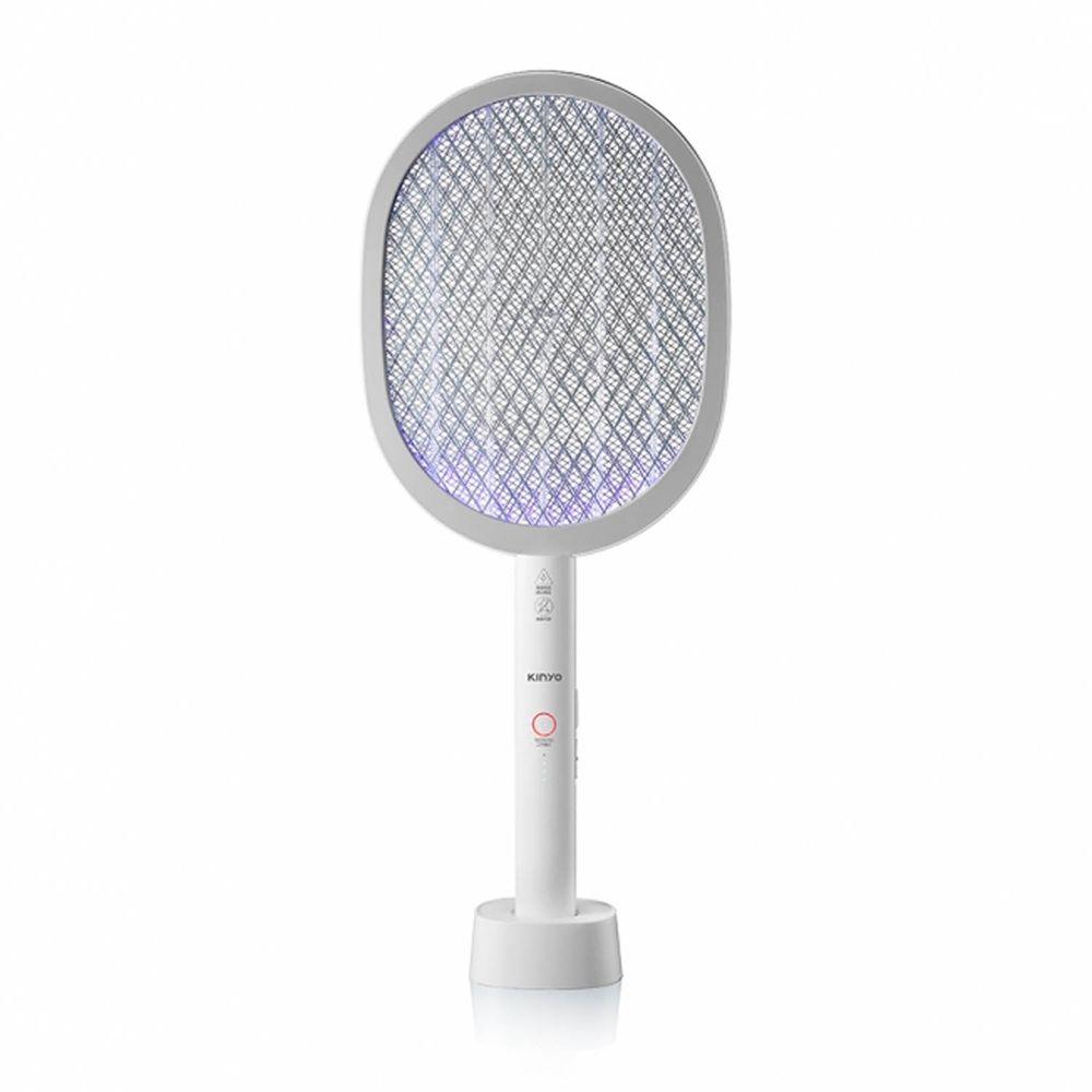 KINYO - 無線充電式二合一滅蚊器/電蚊拍/捕蚊燈 (W22.7xH56.4xD8.05cm)