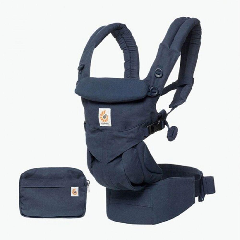 美國ERGObaby - Omni全階段型四式360嬰兒揹巾/揹帶-非透氣款-午夜藍