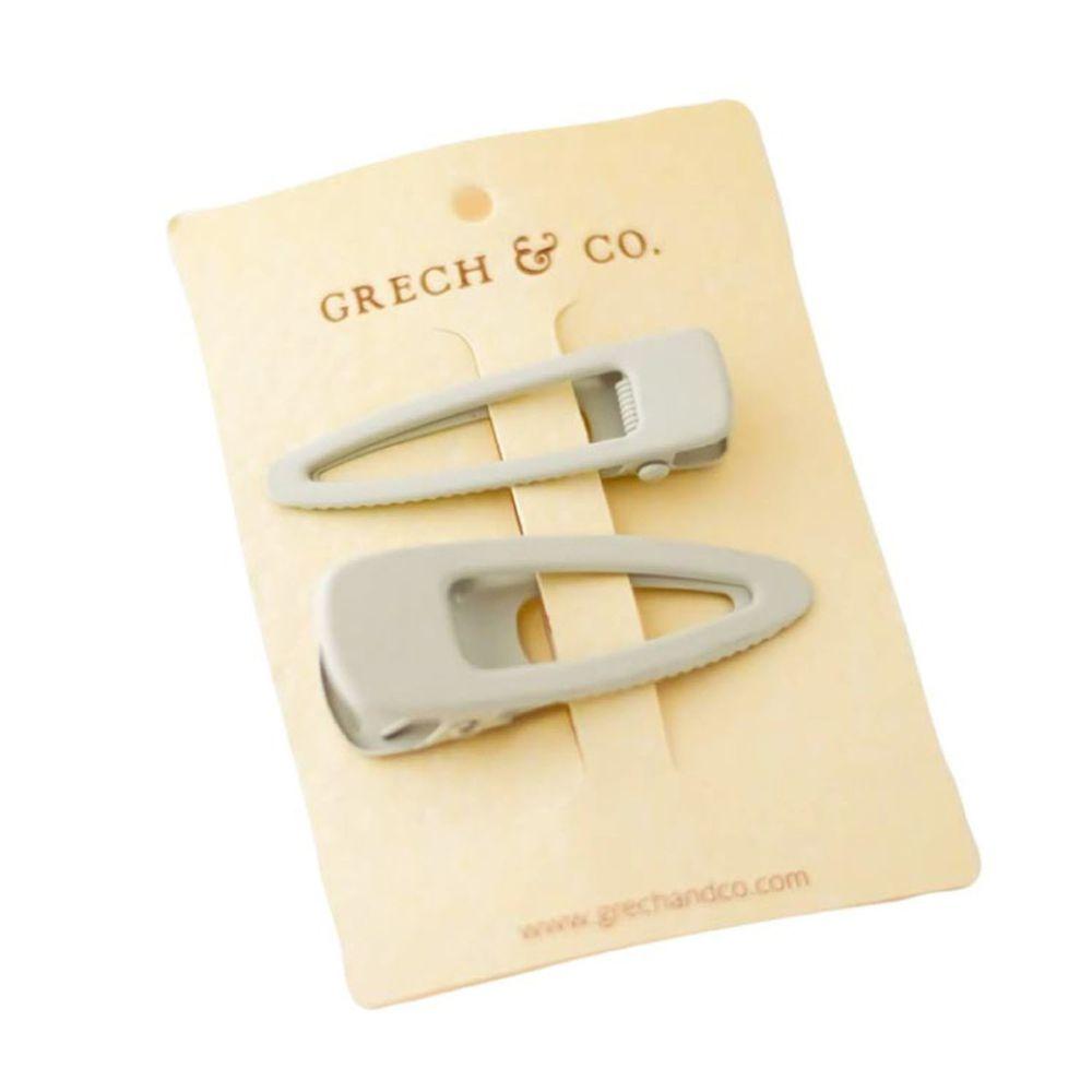 丹麥GRECH&CO - 髮夾二入組-奶茶