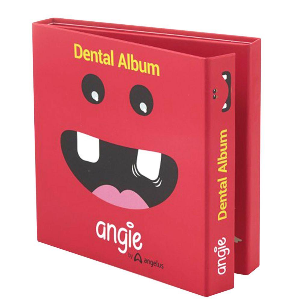 巴西 angie - 牙仙的魔法乳牙紀念小書(乳牙盒)-一本裝-櫻桃紅