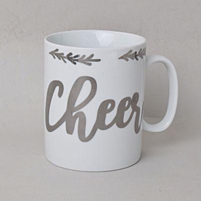 簡單風英文馬克杯-Cheer-350ml