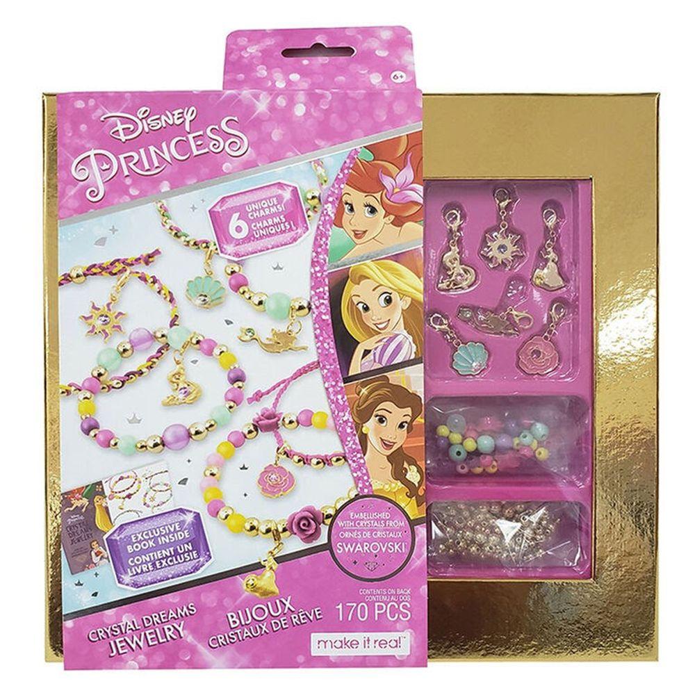 Disney 迪士尼 - 《Disney 迪士尼》迪士尼公主珠珠掛飾手環組