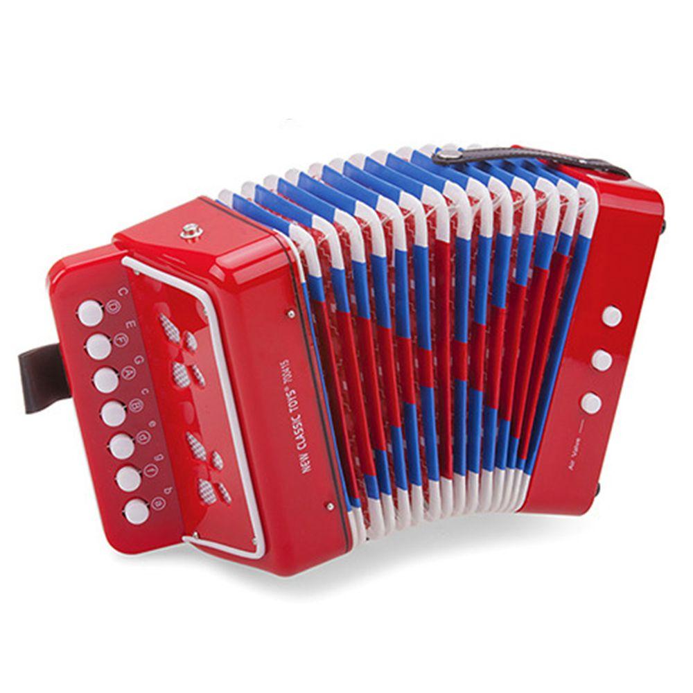 荷蘭 New Classic Toys - 幼兒手風琴玩具-活力紅