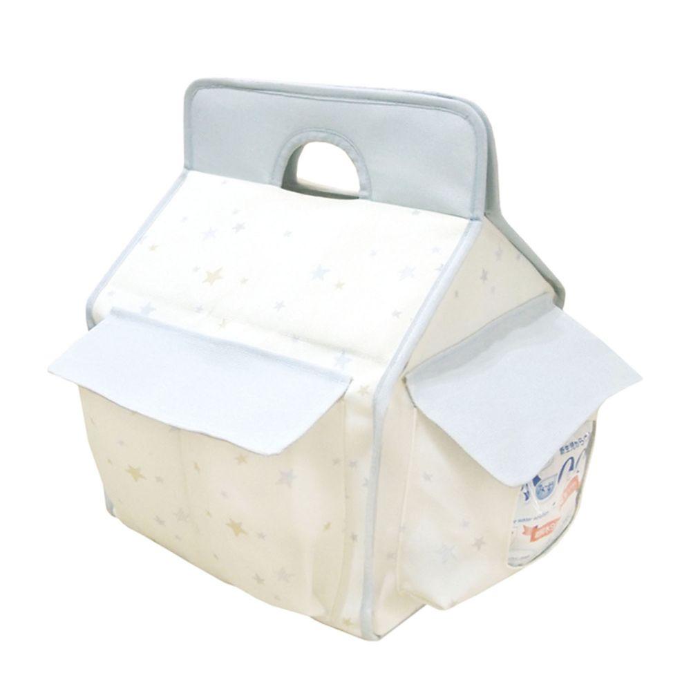akachan honpo - 萬用收納盒-淺藍色-1組
