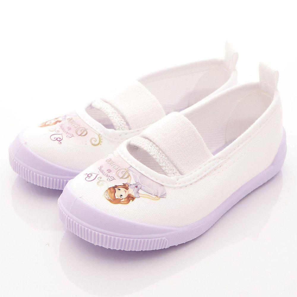 Moonstar日本月星 - 日本月星機能童鞋-蘇菲亞聯名室內鞋款(中小童段)-紫